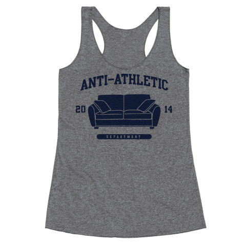 Anti Athletic Club Racerback Tank Top