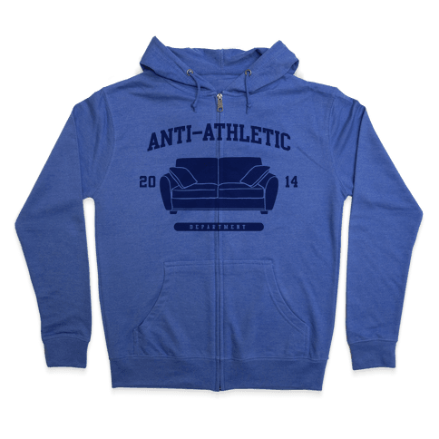 Anti Athletic Club Zip Hoodie