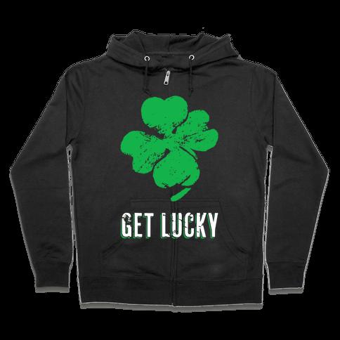 Get Lucky Zip Hoodie