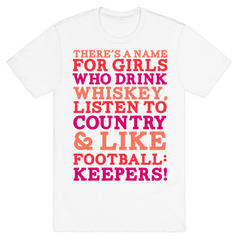 Keepers Mens T-Shirt