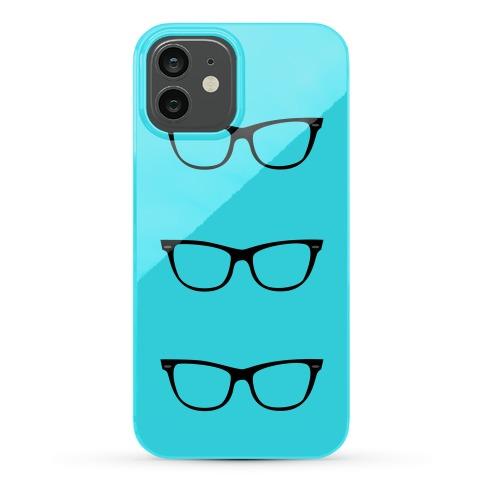 Blue Glasses Phone Case
