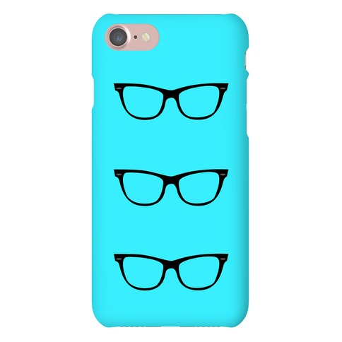 Blue Glasses Phone Case