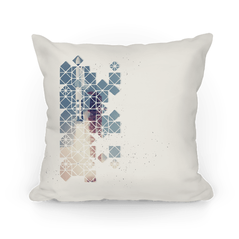 Hexagon Space Ship Pillow