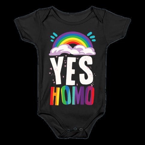 Yes Homo Baby Onesy