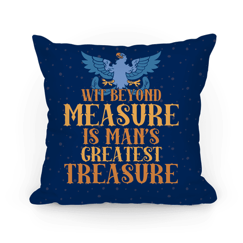 Ravenclaw Motto Pillow