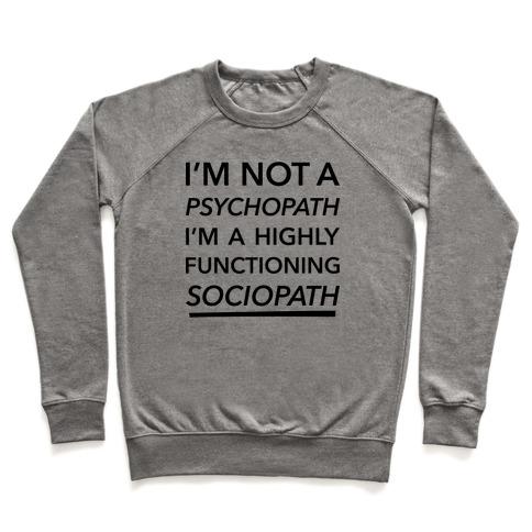 Sociopath Pullover