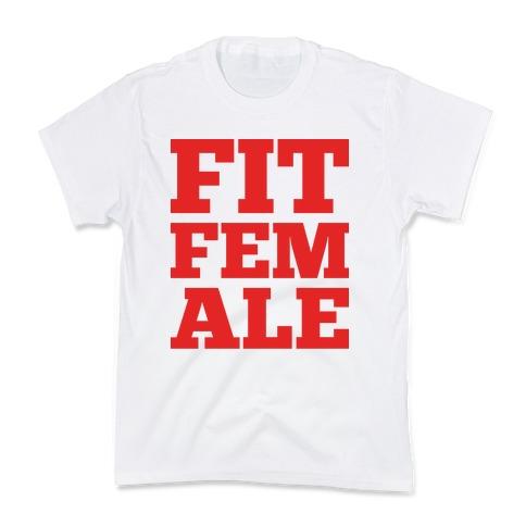 Fit Female Kids T-Shirt