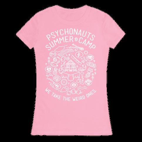 Psychonauts Summer Camp Womens T-Shirt