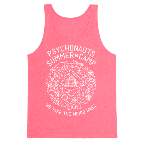 Psychonauts Summer Camp Tank Top