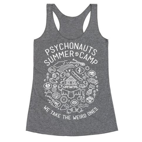 Psychonauts Summer Camp Racerback Tank Top