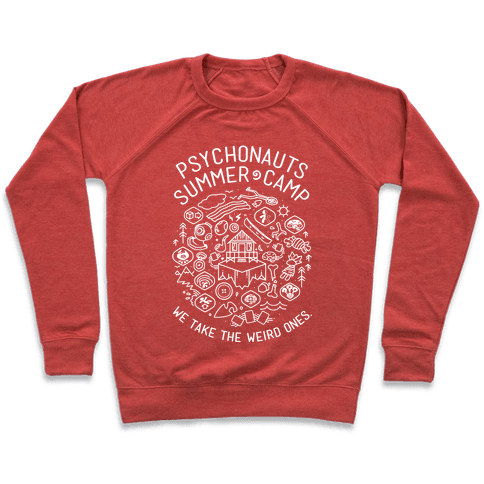 Psychonauts Summer Camp Pullover