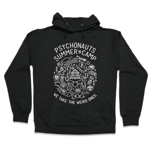 Psychonauts Summer Camp Hooded Sweatshirt