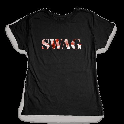 Swag Flowers Womens T-Shirt