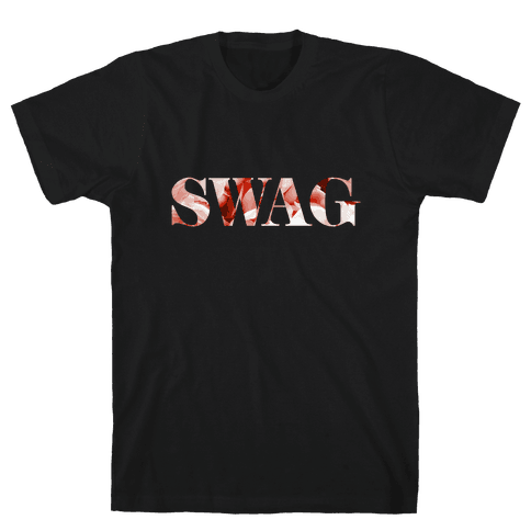 Swag Flowers Mens T-Shirt