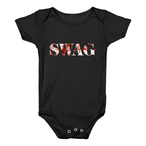 Swag Flowers Baby Onesy