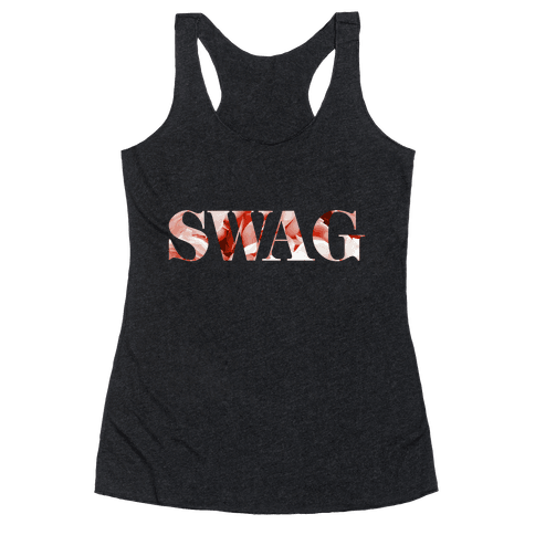 Swag Flowers Racerback Tank Top