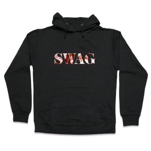 Swag Flowers Hooded Sweatshirt