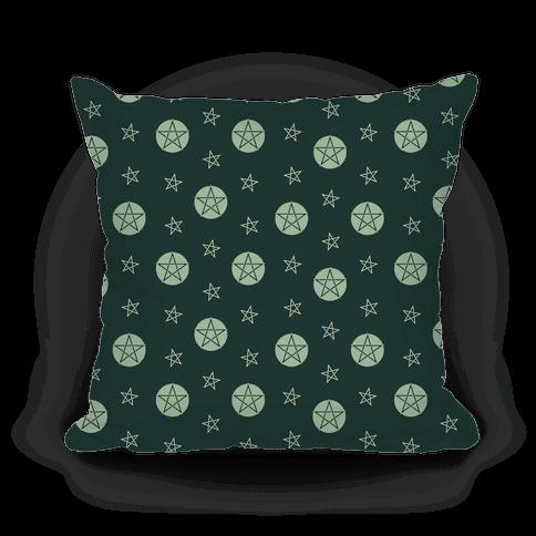 Green Wicca Pentacle Pattern