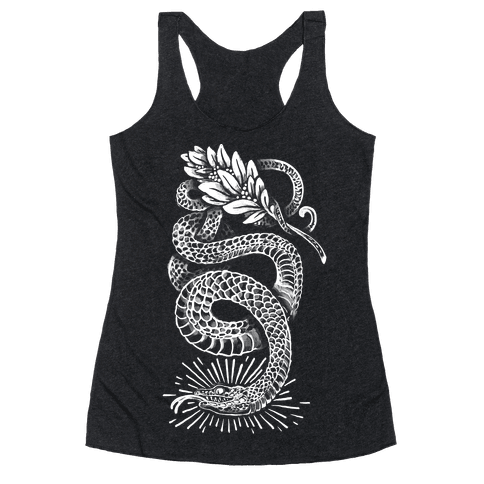 Laurel Snake Racerback Tank Top
