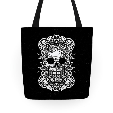 Punk Diamond Skull Tote