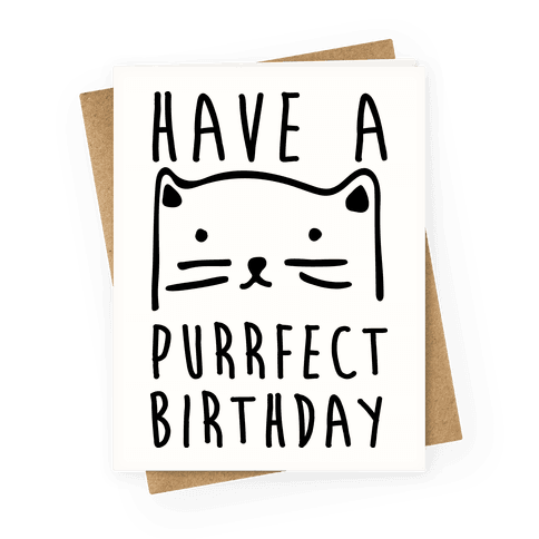 Have A Purrfect Birthday