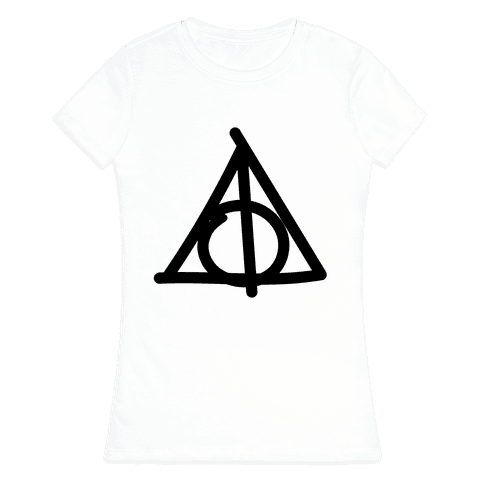 Deathly Hallows Doodle T-Shirt | LookHUMAN