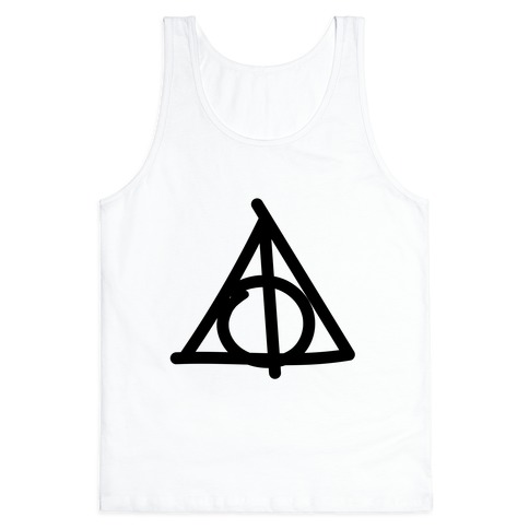 Deathly Hallows Doodle Tank Top
