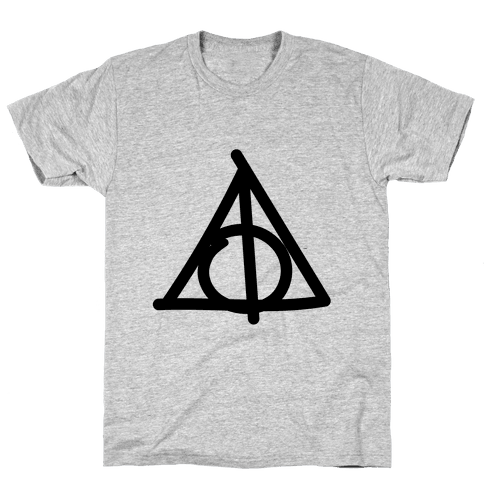 Deathly Hallows Doodle Mens T-Shirt