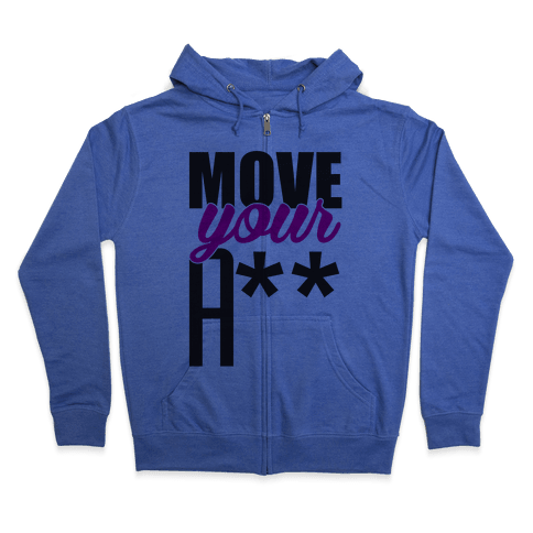 Move! Zip Hoodie