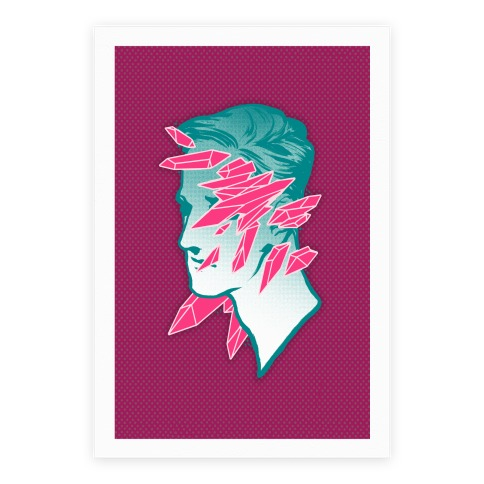 Crystal Faced Stranger Poster