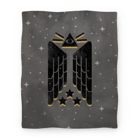 Illuminati Wings Blanket