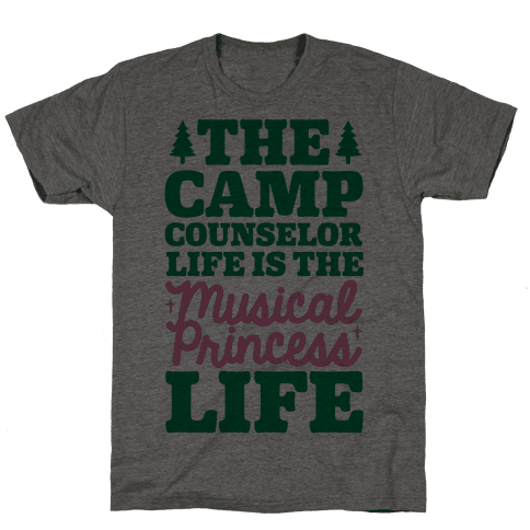 Camping Princess Mens T-Shirt