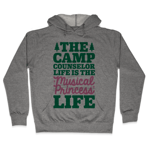Camping Princess Hooded Sweatshirt