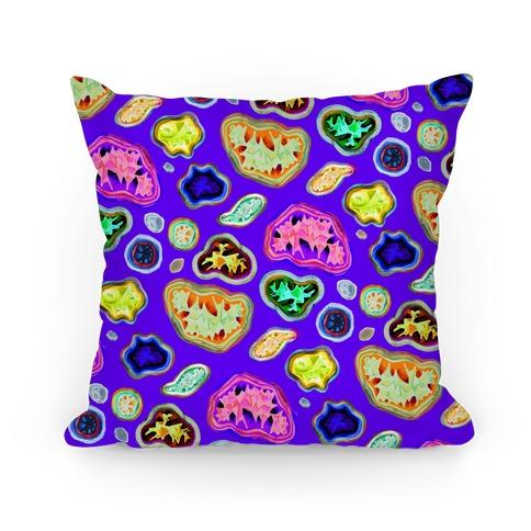 Geode Pattern Pillow Pillow