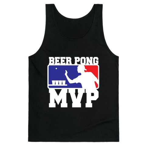 Beer Pong MVP Tank Top