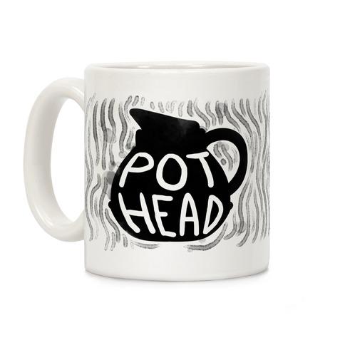 Pot Head (Coffee) Coffee Mug