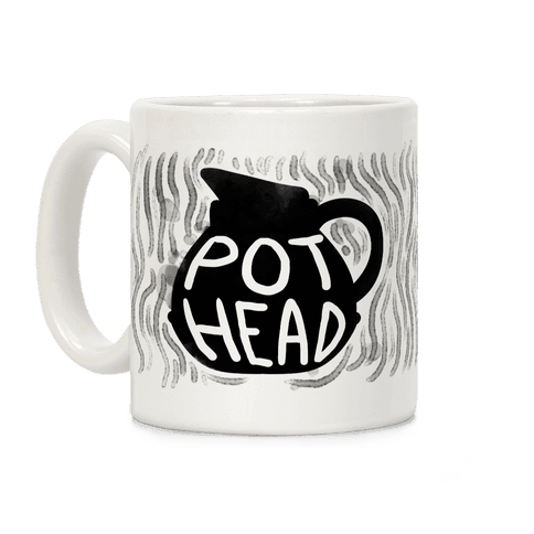 Pot Head (Coffee) Coffee Mug
