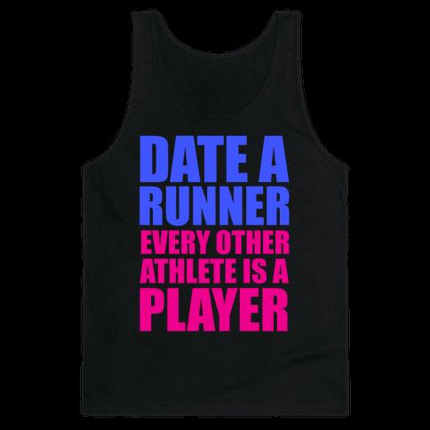 Date a Runner Tank Top