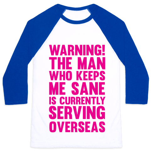 Warning! Baseball Tee