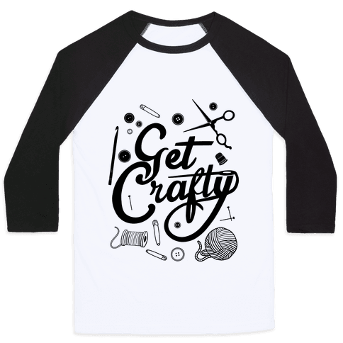 Get Crafty Baseball Tee