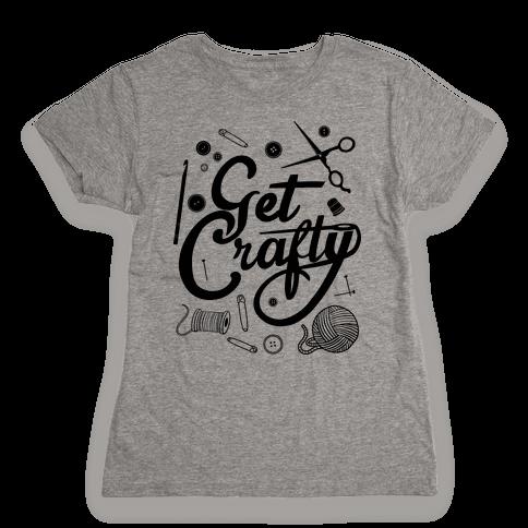 Get Crafty Womens T-Shirt