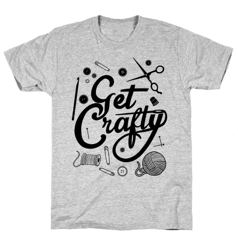 Get Crafty Mens T-Shirt