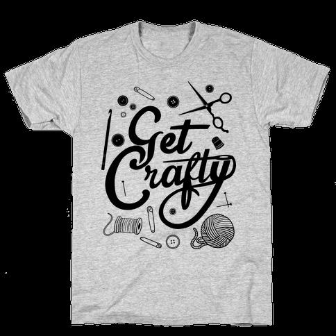 Get Crafty Mens T-Shirt