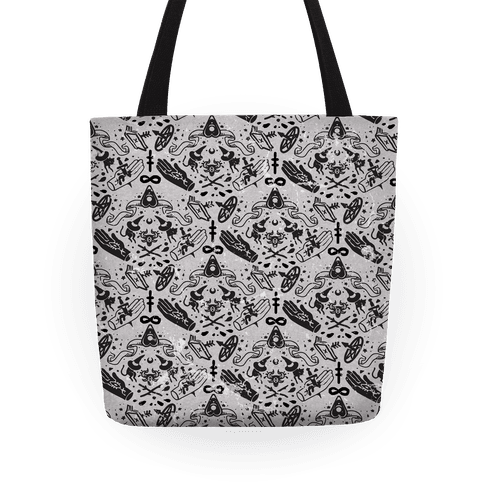 Occult Pattern Tote