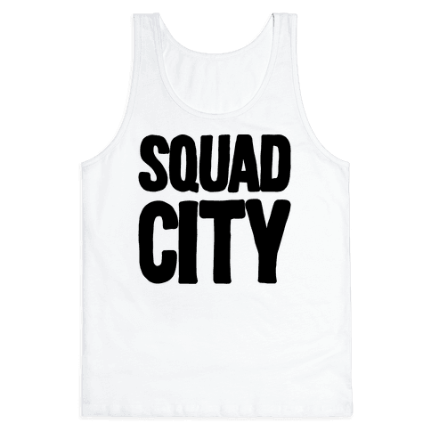 Squad City Tank Top