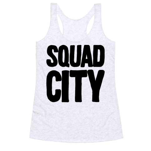 Squad City Racerback Tank Top