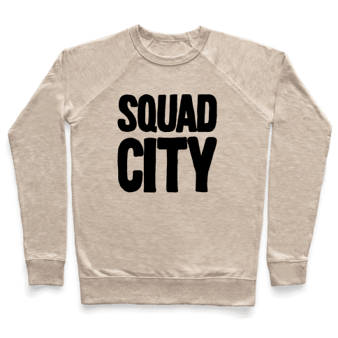 Squad City Pullover