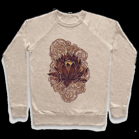 Lotus Flower Pullover