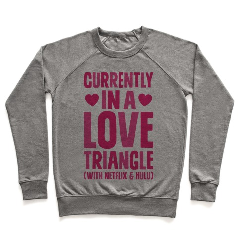 Love Triangle Pullover