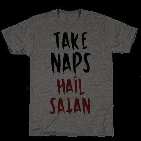 Take Naps Hail Satan